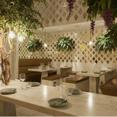 interior landscape designers for restaurants indoor plants